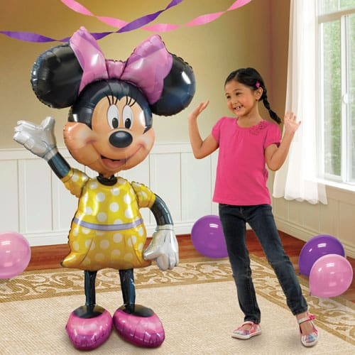 Mickey Mouse Airwalker Buddy Balloon Helium 52 inches Air Walker Party Decor