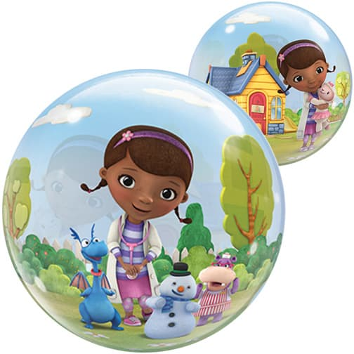Doc Mcstuffins Blase Qualatex Ballon - 22 Zoll / 56 Cm