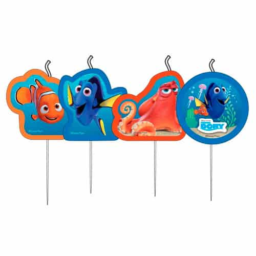 Dory Party Kerzen finden - 4er Pack