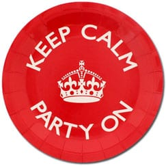 Keep Calm Mottoparty