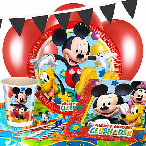 Mickey Mouse Clubhouse Deluxe-Parteipaket Für 8 Personen