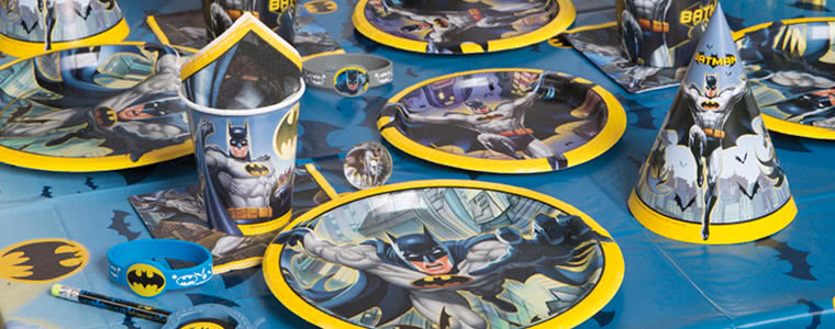 Batman Superhero Mottoparty Top Image