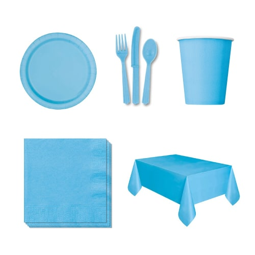 Baby Blue 18-Personen-Party-Pack