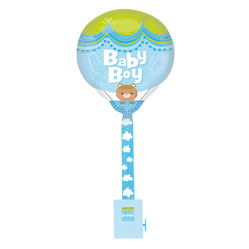 Baby Junge Folie Helium Ballon Uplifter 81Cm / 32 In