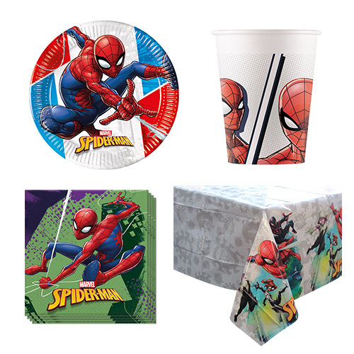 Spider-Man 8 Personen Value Party Pack