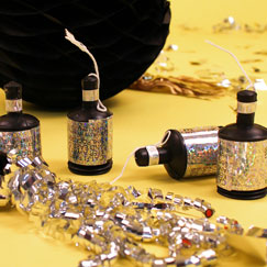 Silvester Party Poppers